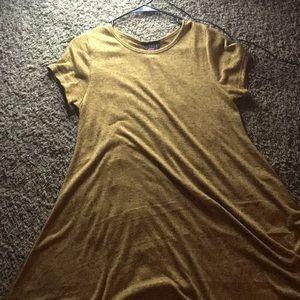 A sweater like dress.